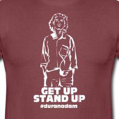 Ich mag diesen stillen, friedlichen Protest:  http://derherrgott.spreadshirt.de/duranadam-zwei-A24844488/customize/color/249  Mein Erlös der Shirts wird gespendet an www.aurela-darf-nicht-sterben.de