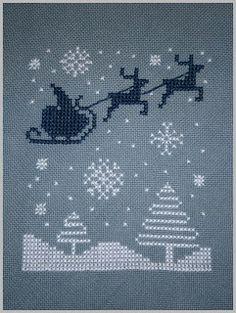 Free Santa and reindeer chart | REPINNED