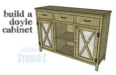 A Cabinet Created by Combining Two Different Plans