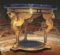 Neoclassical Winged Lion Table  Pierre-Phillippe Thomire (1751-1843) French, circa 1800