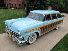 1955 Ford Country Squire Station Wagon Woodie