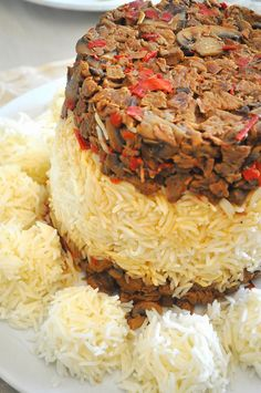 HORIZONS IN THE KITCHEN: A dinner invitation and SARAYLI RICE