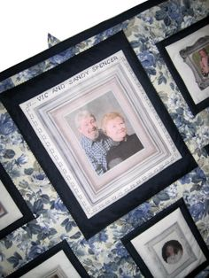 Custom Made Photo Memory Quilt Wall by cherishedcabinquilts, $80.00