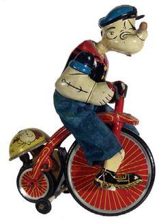 Linemar Popeye on Tricycle $700
