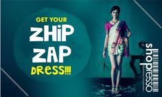 Bored of your old sarees / duppata's? Break away from the boredom and give it to us, we will transform it for you. Ergo your new recycled zhip-zap dress!! Email us your query with a picture of your old saree/duppata's on info@shopresso.in