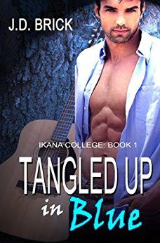 Tome Tender: Tangled Up in Blue by H.D. Brick (Ikana College #1...