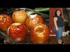 Ella comía manzanas horneadas cada día durante una semana  No te imaginas el efecto!