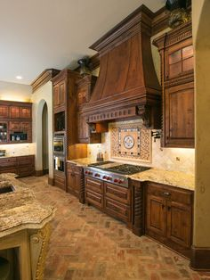 Mediterranean Kitchen Design, Pictures, Remodel, Decor and Ideas - page 23