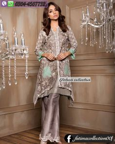 fdbc07f2fd Diamond Dust Luxury Eid Chiffon Collection https://www.facebook.com/ · Lawn  SuitsPakistani ...