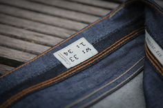 denim.lab selvage chambray detail