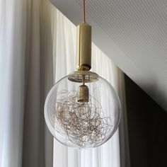 Plaina suspension lamp is the perfect lighting peace for a restaurant or lobby. You can use it too in your living or dining room. Furniture, Ceiling Lights, James Hotel, Suspension Lamp, Light, Glass, Artisan, Clear Glass, Polished Brass