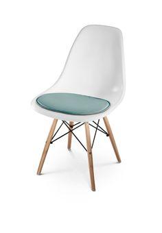 HILLMANN LIVING Sitzkissen Eames Side Chair   Sitzauflage Aus Leder Für  Designklassiker Eames Side Chair,