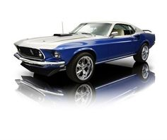 1969 Ford Mustang Mach 1 428 Cobra Jet C6. I love this car. Looks like my 2004 Ford Mustang, same color.