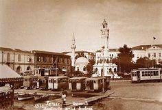 İzmir Saat Kulesi, Konak