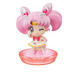 Petit Chara Sailor Mini Moon figures. Order info and pics here http://www.moonkitty.net/buy-bandai-tamashii-nations-sailor-moon-sh-figuruarts-figures-models.php #SailorMoon #Moonkitty