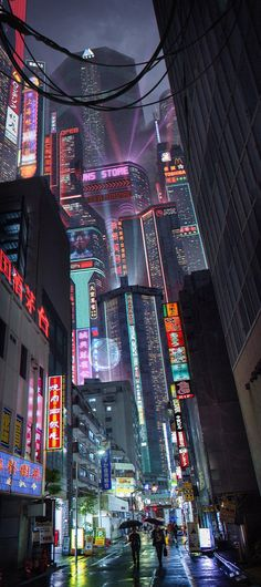 Experience these incredible visions of a cyberpunk future, brought to us by some of featured artists. Cyberpunk City, Cyberpunk Tattoo, Cyberpunk Kunst, Cyberpunk Aesthetic, Futuristic City, Futuristic Architecture, Cyberpunk 2077, Cyberpunk Fashion, Japan Architecture