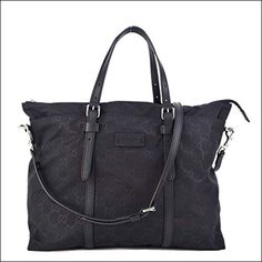 03fa8e758c3 B01D8Y139G Gucci Original GG bag tote Black Red Green Fabric New Green  Fabric