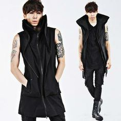 Buy 'deepstyle – High-Neck Zip-Up Vest' with Free International Shipping at YesStyle.com. Browse and shop for thousands of Asian fashion items from South Korea and more!