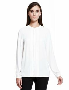 Autograph No Peep™ Crochet Trim Blouse - Marks & Spencer