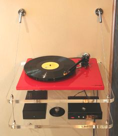Audio Suspension ASU-100 Turntable Wall Mount 240 pounds for one shelf