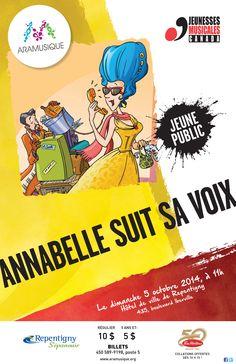 Annabelle suit sa voix | 5 octobre 2014