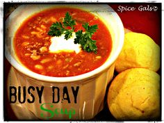 Busy Day Soup on MyRecipeMagic.com