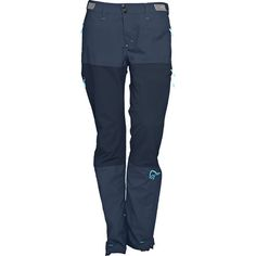 Even warm days on the trail or at the crag can turn cold, windy, or rainy pretty quick— be prepared for ever-changing mountain weather with the Norrona Women's Bitihorn Lightweight Hybrid Softshell Pants. Lightweight, weather-resistant, and well ventilated, these versatile pants will see you through on any mountain adventure with multiple pockets, zippered thigh vents, and an adjustable waist system.