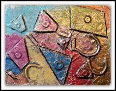 foil relief sculptures   PLATEAU ART STUDIO