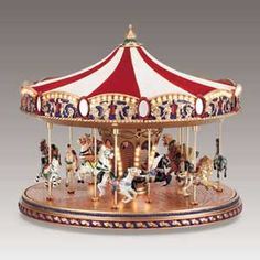 Mr Christmas World's Fair Carousel  #79851--SORRY SOLD OUT