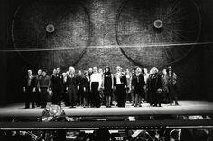 Bertolt Brecht Set Design Bertolt the brecht curtain