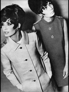 1960's Fashion. <3   ///   We were too cool