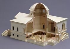 Architectural model of Chiswick House, The Network Modelmakers