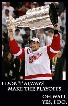 Ahh, Nick Lidstrom. @Detroit Red Wings