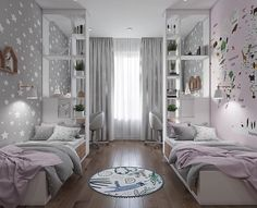 Kids Bedroom Ideas Visit www.the-fairytale. and get inspirations in order to decor the perfect roo Kids Bedroom Designs, Home Room Design, Kids Room Design, Home Decor Bedroom, Bedroom Furniture, Bedroom Ideas, Cool Kids Rooms, Girl Room, Dream Homes