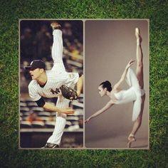 Phillips-Barton Cairns baseball and ballet more alike than you think Baseball Mom, Baseball Players, Dodgers Baseball, Baseball Stuff, Ny Yankees, Dance Quotes, Dance Memes, Dance Humor, The Time Is Now
