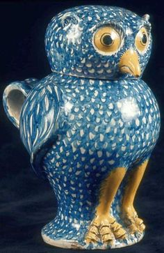 Covered jug in form of an owl   Museum of Fine Arts, Boston