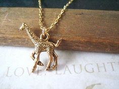 Giraffe Necklace | 47 Intensely Delightful Pieces Of AnimalJewelry