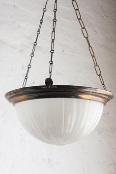 Art Deco ceiling light from Retrouvius