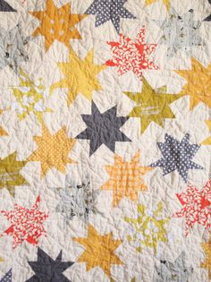 Sparkle Punch Baby Quilt | Miss Make