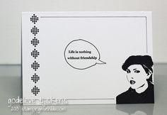 StampingMathilda: Black & White - 165