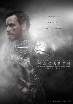 Macbeth, Michael Fassbender, movie, poster, Marion Cotillard, Justin Kurzel, Shakespeare, Scottish play