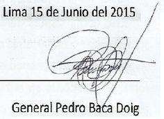 LAS  FUERZAS   DEL   ORDEN  :   FFAA  Y  PNP: CARTA ABIERTA DEL GENERAL EP PEDRO BACA DOIG: CÓMO...