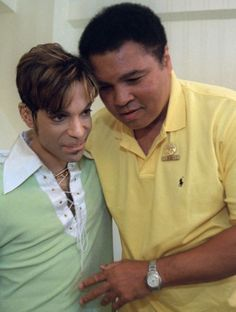 Muhammad Ali was an icon to many people including one awestruck Prince. The former heavyweight champion passed away last Friday at the age of A video shows Prince, who. Muhammad Ali, Mike Tyson, Black Is Beautiful, Beautiful People, Amazing People, New School Hip Hop, Black History Facts, Roger Nelson, Portraits
