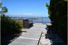 View of Santa Rosa Sound from Panferio 319, a charming cottage with a well-equipped kitchen, flat-screen TVs, full-size washer and dryer, and a huge deck that's furnished for entertaining.