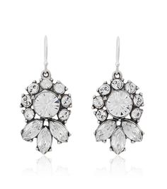 Glamour Crystal Drop Earring by Ben Amun