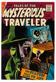 Sci Fi Comics, Horror Comics, Vintage Movies, Vintage Posters, Charlton Comics, Book Creator, Steve Ditko, Little Boy Blue, Silver Age
