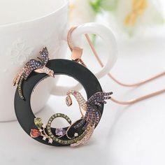 Phoenix Rounded Necklace