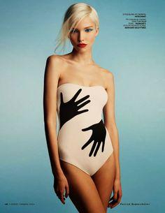 Sasha Luss Vogue Russia January 2014