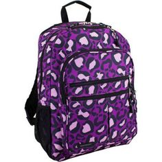 Eastsport Future Tech Backpack with Fully Padded Electronic Storage Pocket, Purple