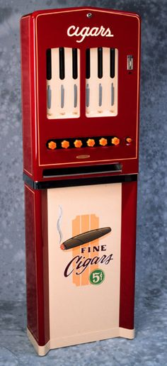 """Keep your cigars in a vintage cigar dispenser, if you love stogies as much as we do! www.LiquorList.com  """"The Marketplace for Adults with Taste!""""  @LiquorListcom #liquorlist"""